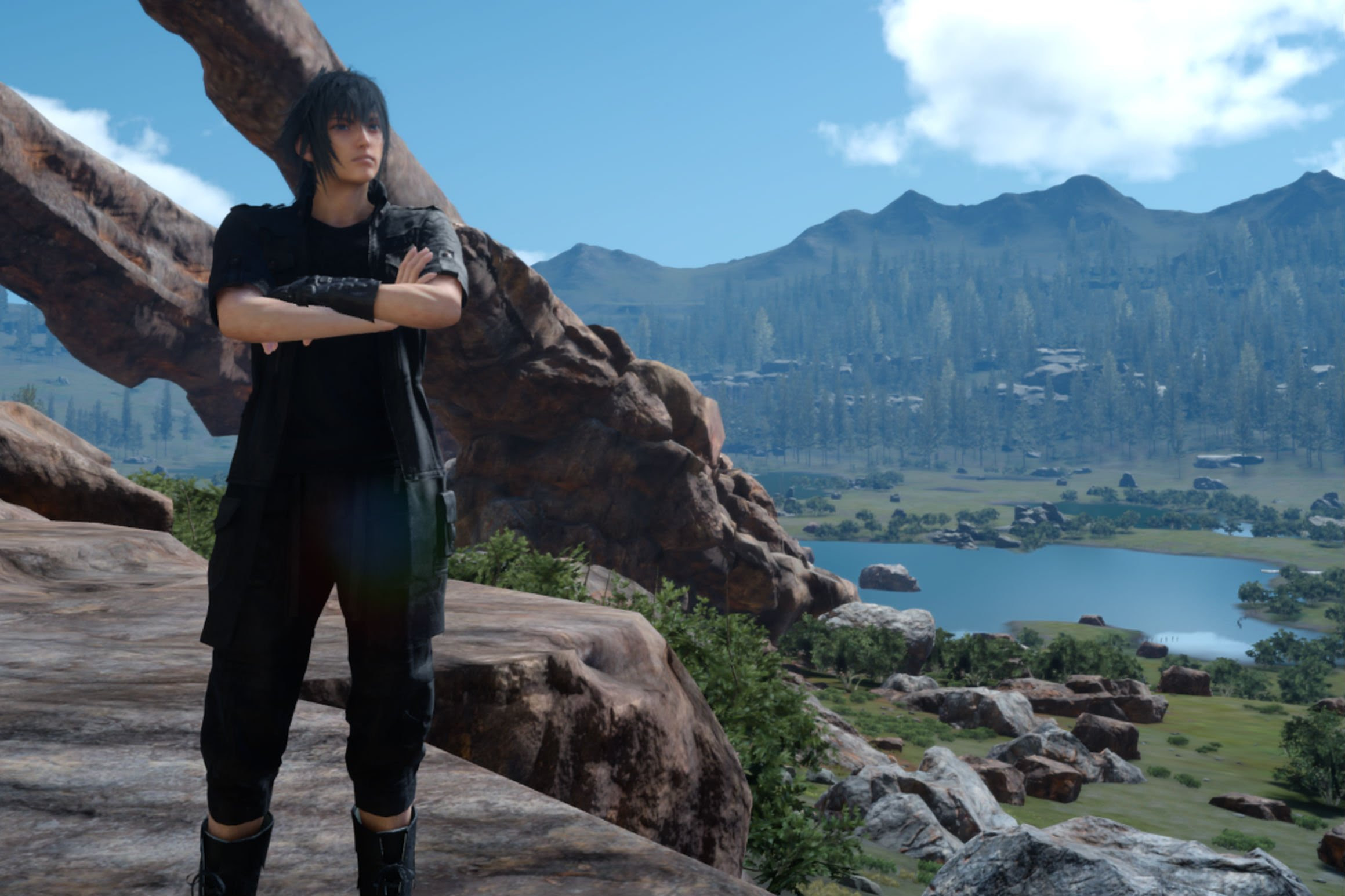 Final Fantasy XV will have a one year anniversary stream later this month screenshot