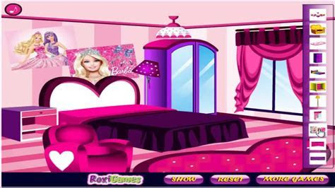 Barbie Fan Room Decoration   Girls Game / Baby Games   HD