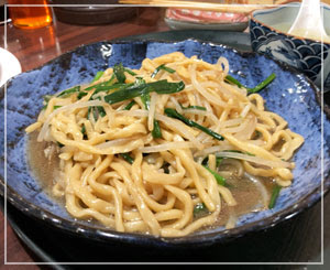 台湾屋台の味がした、大頭麺。