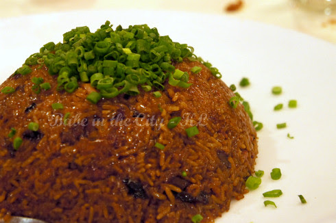 Fried Glutinous Rice with Waxed Meat