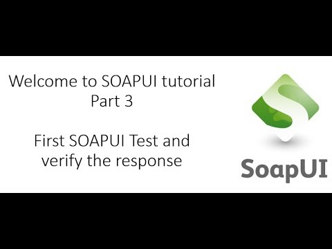 First SOAPUI Test Case- SOAPUI Tutorial - By Mukesh Otwani - EST