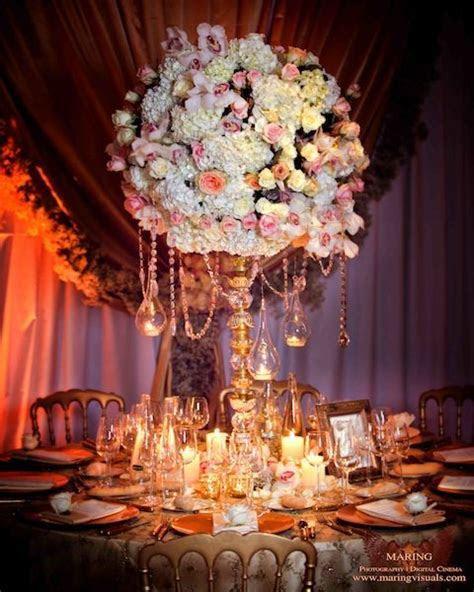 David Tutera Weddings: Crystal garland can be found at www