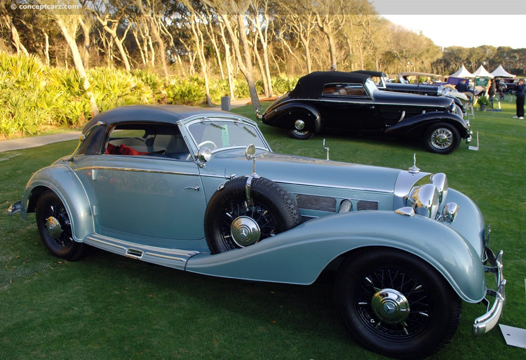 1938 Mercedes-Benz 540K - conceptcarz.com