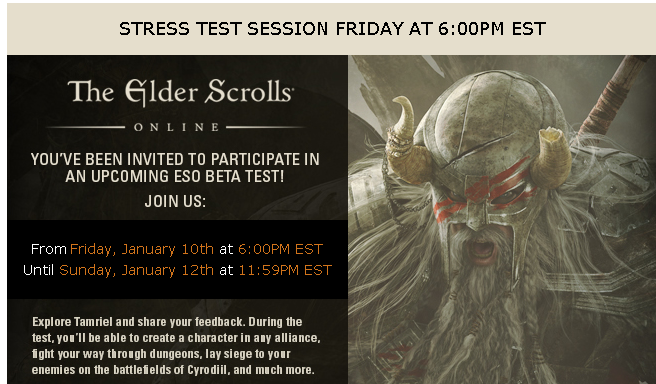 Stress Test invites going out check ur emails ...