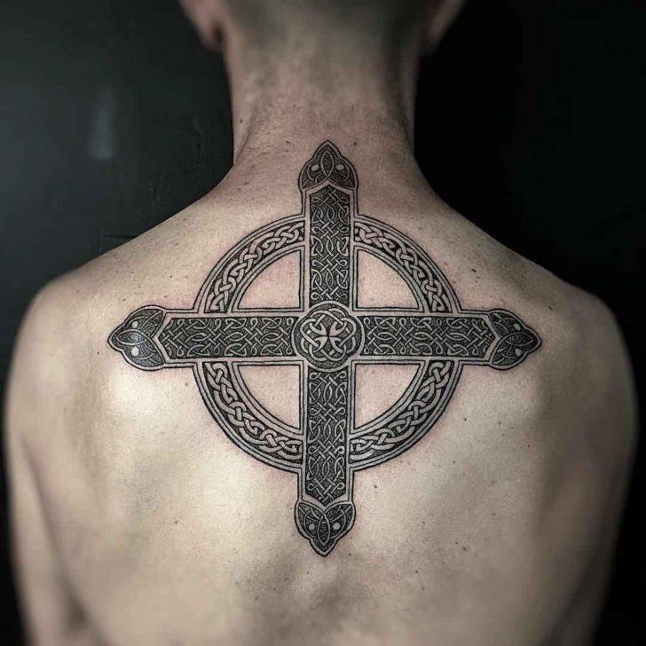 Celtic Cross Tattoo Back Best Tattoo Ideas Gallery