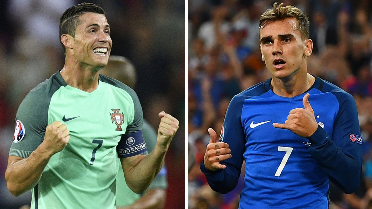 Key players, predictions for Portugal-France Euro final - FC - ESPN FC