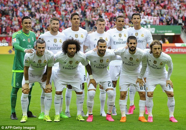 Real Madrid fielded a very strong side but were unable to score a goal against Sporting Gijon on Sunday night