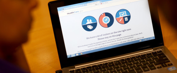 obamacare website glitches