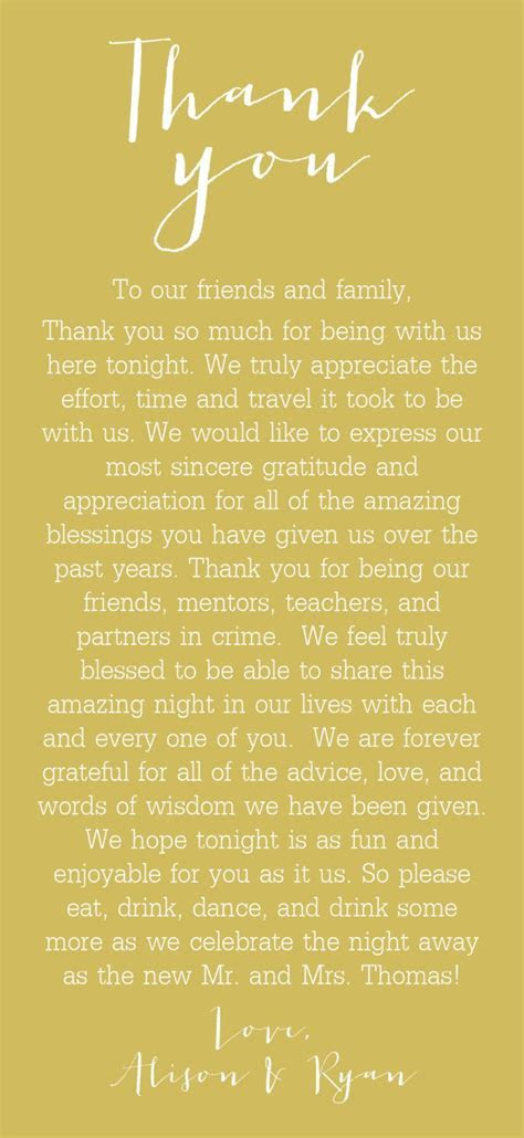 Thank You Cards for Table Setting 30   weddings   Wedding