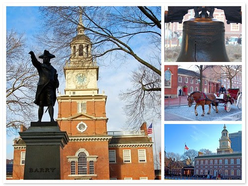 Independence Hall and Liberty bell