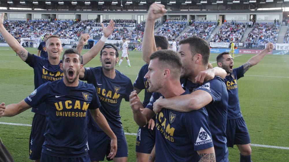 El UCAM Murcia CF acompaña al Reus a segunda división