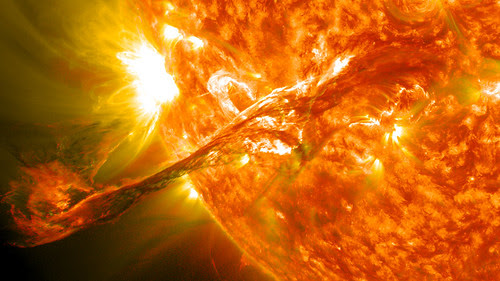 Magnificent CME Erupts on the Sun - August 31 by NASA Goddard Photo and Video