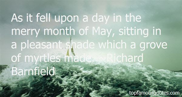 Quotes About Month Of May 56 Quotes