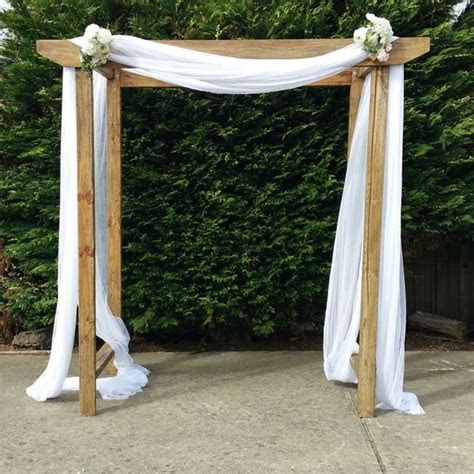 Timber wedding arch hire gippsland   Wedding arch