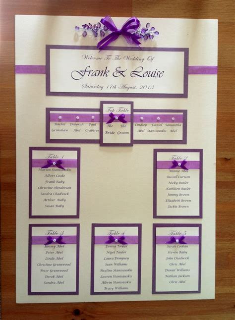 Wedding seating plan idea   Its a Surprise!   Pinterest
