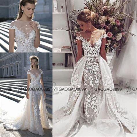 dress, berta, over skirt wedding dress, lace cap sleeve