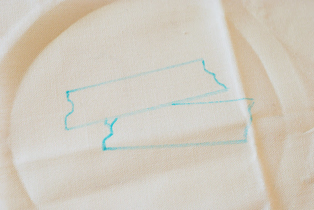 Embroidering Washi Tape