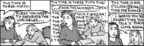 Home Spun comic strip #475
