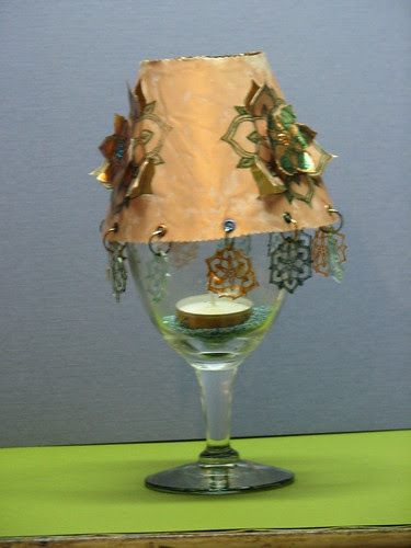 Streuter Copper Tea Light Cover1