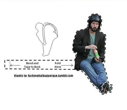 keanu reeves sad sandwich. Sad Helmet Keanu photo