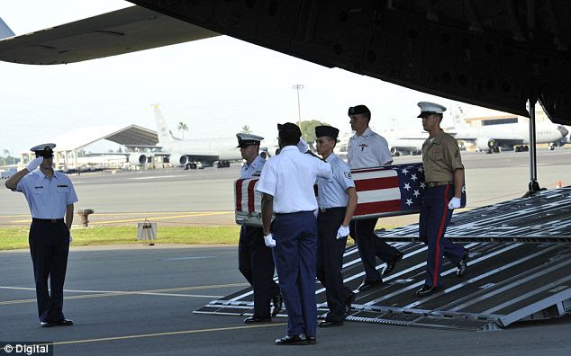 Revealed: Repatriation ceremonies at a Hawaii base have been faked for seven years. The Pentagon admits that most remains in the 'arrival ceremonies' had been back in the U.S. for a long time