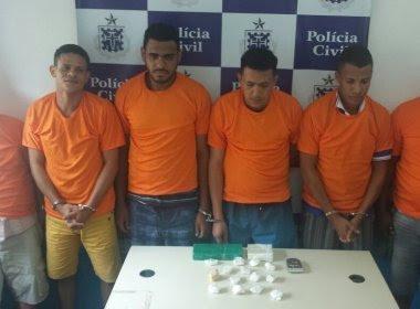 Lauro de Freitas: Polícia prende traficantes que atuavam em Feira de Santana e RMS