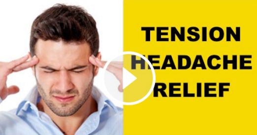 Tension headache — The Pain Free Institute