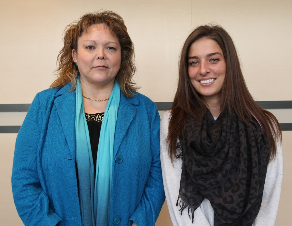 Jolene Hill (left) and Renée Monchalin are this year's recipients of the Aboriginal Achievement Awards.