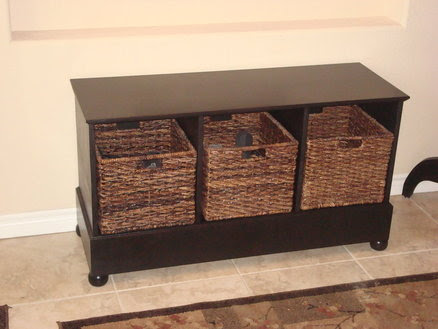 Entryway storage bench - by HawkDriver @ LumberJocks.com ...