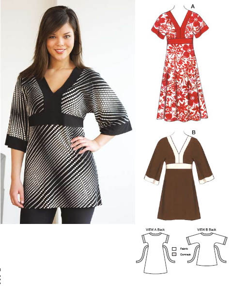 Kwik Sew Tunic and Dress 3533