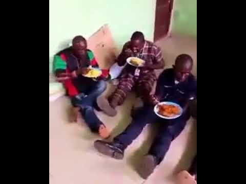 Nigerian Soldiers Feed Arrested IPOB Members with Jollof Rice and Chicken (Photos/Video)