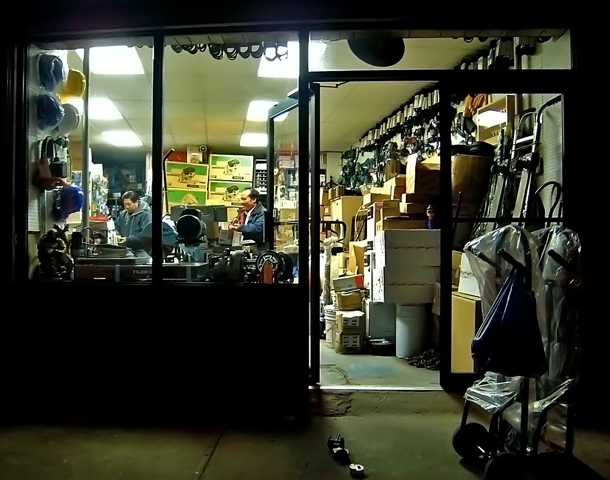 Closing up Shop