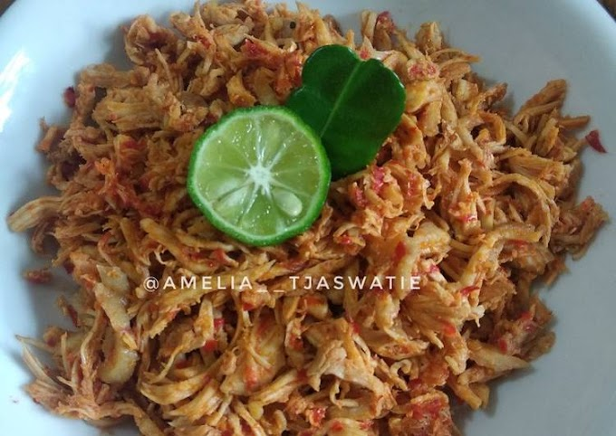 Resep 16. Ayam Sisit/ Suwir Bali Cita Rasa Tinggi