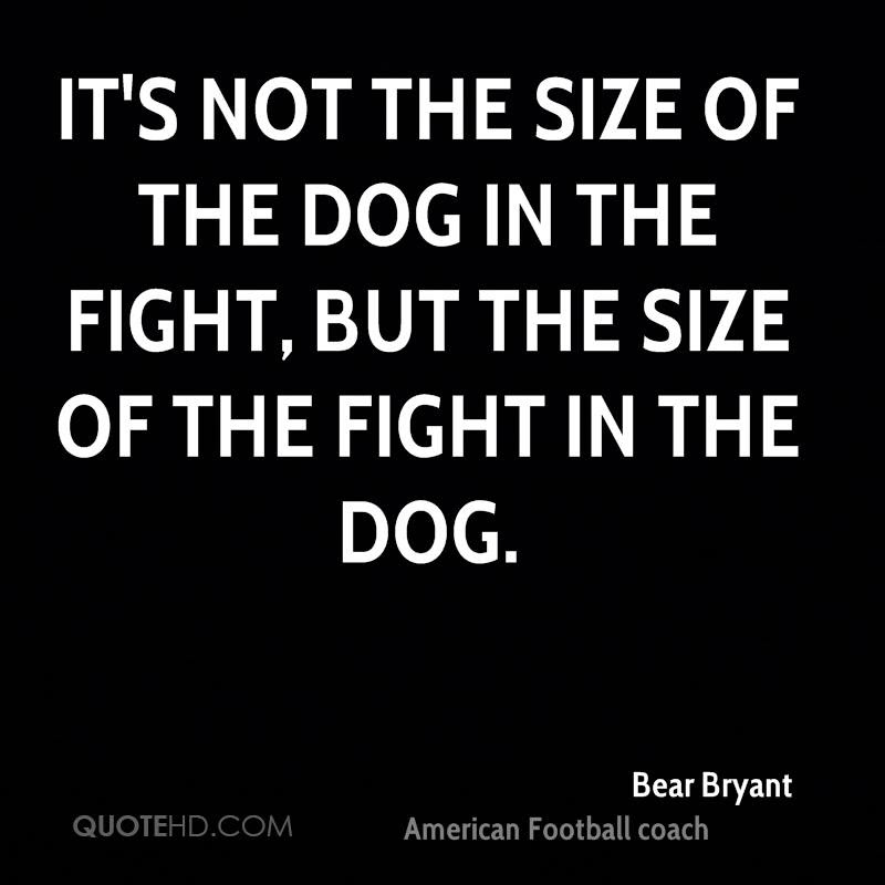 Bear Bryant Quotes Quotehd