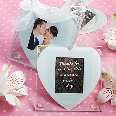 Heart Shaped Photo Coaster Set of 2