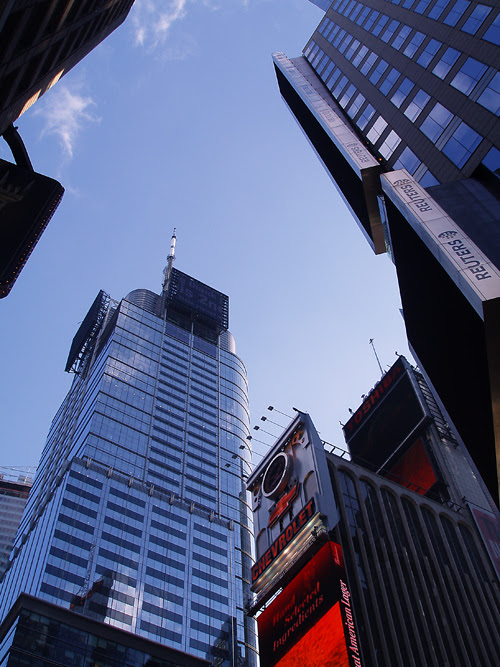 Times Square buildings