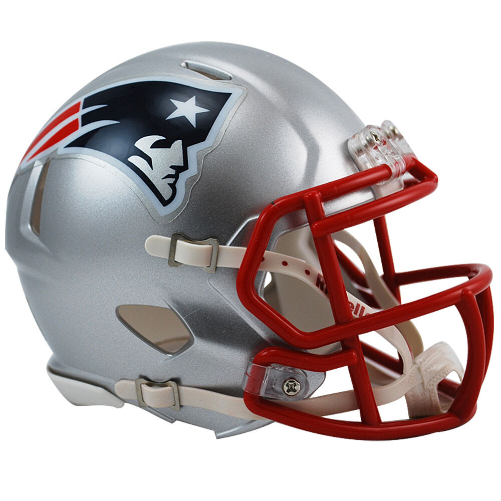 New England Patriots Riddell NFL Mini Speed Football Helmet  eBay