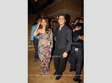 Gauri Khan : Shahrukh Khan and his wife Gauri Khan at the Shilpa Shetty''s wedding reception (82344)