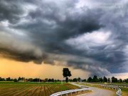 Shelf cloud a Gambara (BS) 21 Maggio 2019