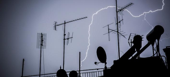 Καταιγίδα στην Αθήνα (Φωτογραφία: EUROKINISSI/ΣΤΕΛΙΟΣ ΜΙΣΙΝΑΣ)