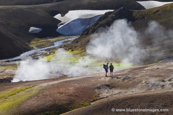 06D-1283 Temp The Storihver Geothermal Area Iceland.