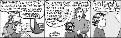 Home Spun comic strip #447