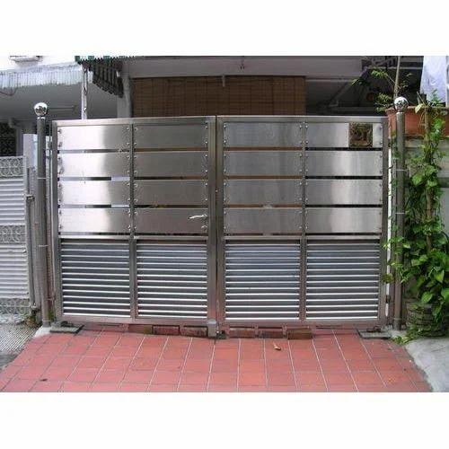 Metal Gates Designer Stainless Steel Gate Manufacturer From Ambala