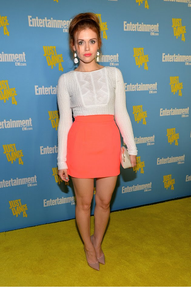 Holand Roden at the 2012 Comic-Con Entertainment Weekly party.