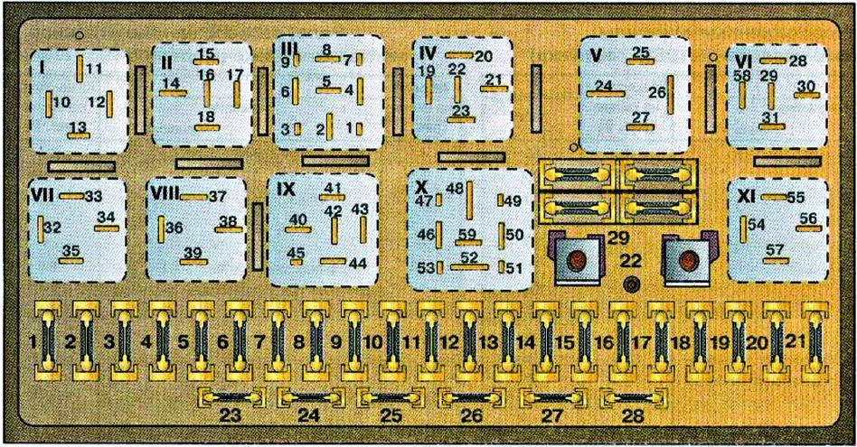 Audi 80 B3 1986 1991 Fuse Box Diagram Auto Genius