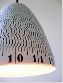 Measuring Tape Lamps