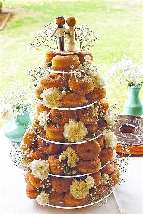 Best 25  Donut wedding cake ideas on Pinterest   Donut