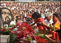 Heroes Day observed by JVP