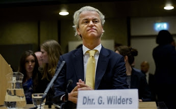 Right-wing Dutch politician Geert Wilders appears in an Amsterdam court Thursday to hear he is acquitted of charges that his statements about Muslims...