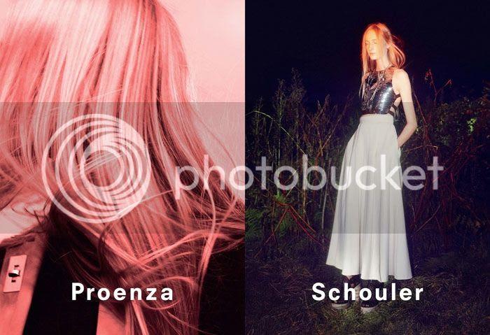 Proenza Schouler spring summer 2014 campaign
